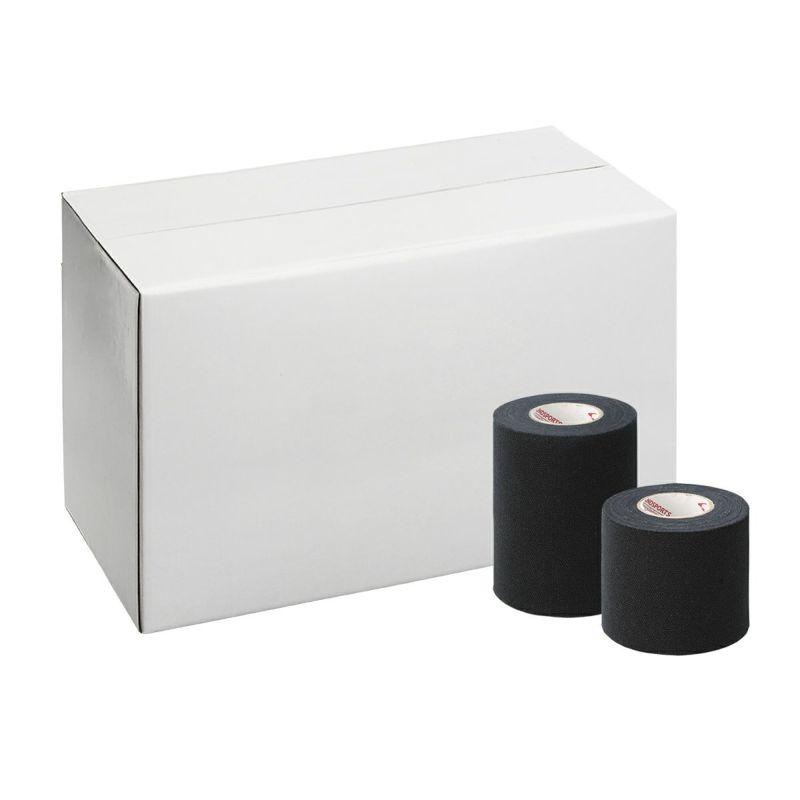 ライトティアストレッチテープ 黒 幅50mm 24本入 / 幅75mm 16本入